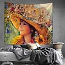 halpa Seinämaalaukset-Klassinen teema / Satu-teema Wall Decor 100% polyesteri Moderni Wall Art, Seinävaatteet Koriste