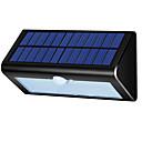זול אורות נתיב-1pc 4 W תאורת קירות חוץ / אור רחוב / השמש אור השמש עמיד במים / סולרי / חיישן איפרא אדום לבן 3.7 V תאורת חוץ / בריכת שחיה / חָצֵר 38 LED חרוזים