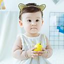זול מחזיק למברשת האסלה-מידה אחת זהב אביזרי שיער פוליאסטר אחיד פעיל / בסיסי / מתוק בנות פעוטות / עולל / תינוק