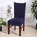 halpa Irtopäälliset-Tuolin päällinen Moderni Lankavärjätty Polyesteri slipcovers