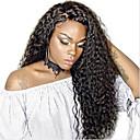 זול פיאות תחרה משיער אנושי-שיער אנושי חזית תחרה פאה חלק צד בסגנון שיער ברזיאלי Kinky Curly שחור פאה 130% 150% 180% צפיפות שיער נשים בגדי ריקוד נשים ארוך פיאות תחרה משיער אנושי Clytie