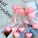 halpa Koristevalot-1kpl sydämet valkosipuli johti merkkivalo akkukäyttöinen keiju valot koristelu joulu häät lasten lahjat huone makuuhuone sisustus