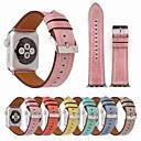 זול מתלים לחלוק-צפו בנד ל סדרת Apple Watch 5/4/3/2/1 Apple רצועת ספורט עור אמיתי רצועת יד לספורט