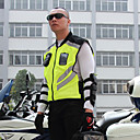 זול תחפושות מבוגרים-אופנוע רכיבה רפלקטיבית אפוד צוות אחיד פלואורסצנטי בטיחות ז 'קט