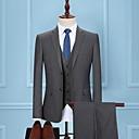 זול חליפות רטובות,חליפות צלילה וחולצות ראש-גארד-בגדי ריקוד גברים אפור כהה US38 / UK38 / EU46 US40 / UK40 / EU48 US42 / UK42 / EU50 חליפות מידות גדולות אחיד רזה