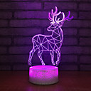 זול אורות 3D הלילה-דיר, חדש, חדש, כחול, מנורה, שולחן, מנורה, חדר, תפאורה, אורות, חג המולד, מתנה, תינוק