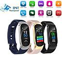 Недорогие Умные браслеты-QS01 умный браслет Bluetooth цветной экран монитор сердечного ритма измерения артериального давления фитнес-трекер водонепроницаемый смарт-часы