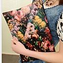 hesapli Zarf Çantalar ve Gece Çantaları-Kadın's Fermuar Clutch PU Duvar yazısı Koyu Yeşil