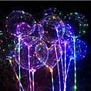 abordables Guirlandes Lumineuses LED-3M Guirlandes Lumineuses 30 LED Blanc Chaud / Rouge / Bleu Imperméable / Soirée / Décorative Piles AA alimentées 1pc