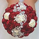 povoljno Cvijeće za vjenčanje-Cvijeće za vjenčanje Buketi Vjenčanje / Svadba Grosgrain / staklo / Aluminij-magnezij legura 11-20 cm