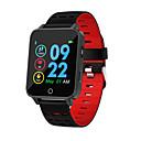 Недорогие Умные браслеты-x9 умные часы с шагомером артериального давления артериального давления водонепроницаемый ip68 bluetooth смарт-фитнес-браслет для android ios
