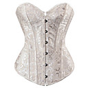 cheap Corsets & Bustiers-Women's Hook & Eye Overbust Corset - Solid Colored / Sexy