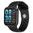 hesapli Erkek Atletik Ayakkabıları-F98 Erkek Akıllı İzle Android iOS Bluetooth Su Geçirmez Dokunmatik Ekran Kalp Ritmi Monitörü Kan Basıncı Ölçümü Sporlar Kronometre Pedometre Arama Hatırlatıcı Aktivite Takipçisi Uyku Takip Edici