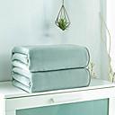 זול שמיכות וכיסויים-שמיכות מיטה / סופה לזרוק, פשוט / צבע אחיד / קלאסי 100% סיב מיקרו חם יותר נוח רך מאוד סמיך