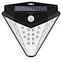 hesapli Dış Ortam Lambaları-1pc 10 W Güneş duvar ışık Su Geçirmez / Güneş Enerjisi / Işık Kontrolü Beyaz 5 V Açık Hava Aydınlatma / Avlu / Bahçe 32 LED Boncuklar