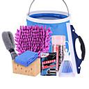 halpa Puhdistusvälineet-autopesuvälineet autonpuhdistusaineet autopesulaitteiden puhdistuspakkaus autonpuhdistus lahjapussihoidon puhdistustyökalupaketilla