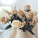 halpa Tekokukat-Keinotekoinen Flowers 1 haara Klassinen minimalistisesta Eternal Flowers Pöytäkukka