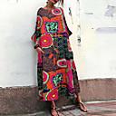 povoljno Ženske cipele s petom-Žene Swing kroj Haljina Color block Midi