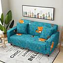זול כלים לאפייה-2019 חדש מסוגנן פשטות להדפיס ספה לכסות מתיחה הספה slipcover סופר רך בד רטרו חם מכירה ספה לכסות