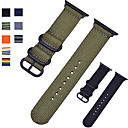 hesapli Smartwatch Bantları-Watch Band için Apple Watch Series 4/3/2/1 Apple Spor Bantları Naylon Bilek Askısı