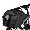 halpa Pyörän tavaralaukut-11 L Pyörän tavaralaukut Kannettava Sateenkestävä vetoketju Käytettävä Pyörälaukku 600D polyesteriä Vedenpitävä materiaali Pyörälaukku Pyöräilylaukku Pyöräily Ulkoliikunta Pyörä