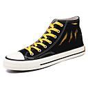 povoljno Muške tenisice-Muškarci Udobne cipele Platno Ljeto Ležerne prilike Sneakers Non-klizanje Color block Crn / Zelen / Bijela