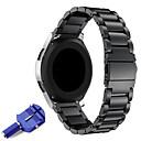 Недорогие Весы-22мм нержавеющая сталь ремешок для часов замена металлический ремешок для шестерни s3 classic / frontier smart / samsung galaxy watch 46мм / ticwatch pro / ticwatch s2 e2