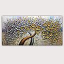 povoljno Slike za cvjetnim/biljnim motivima-Hang oslikana uljanim bojama Ručno oslikana - Sažetak Poznat Klasik Moderna Bez unutrašnje Frame