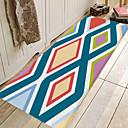 זול מחצלות ושטיחים-1pc קלסי / מסורתי משטחים לאמבט / שטיחונים לאמבט אלמוגים גיאומטרי / פס 5mm חדר אמבטיה יצירתי / ללא החלקה / קל לנקות