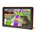 Недорогие DVD плееры для авто-9-дюймовый T19 GPS 256 м 8G Windows CE 6.0 Автомобильный GPS-навигатор Авто с сенсорным экраном GPS-навигатор аудио-видео плеер