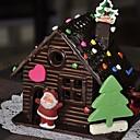 זול מיקרוסקופים ואנדוסקופים-שוקולד, בית, תבנית, עוגה, עוגיות, עוגיות, תבנית, חג המולד, פסטיבל, מטבח, כלים