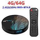 tanie TV Box-Factory OEMTV BOX HK1 MAX 4G+64G Android 9.0 RK3328 4GB 64GB 4-rdzeniowy