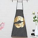 זול ברזים למטבח-מִטְבָּח ציוד ניקיון סיבי פוליאסטר סינרים עיצוב חדש 5pcs