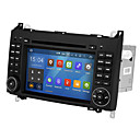 Недорогие DVD плееры для авто-wsd2025 7-дюймовый андроид 8.0 четырехъядерный процессор 2 din автомобильный DVD-плеер с сенсорным экраном для Mercedes-Benz B200