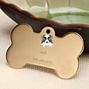 hesapli Kazınmış Evcil Hayvan Aksesuarları-Kişiselleştirilmiş Özelleştirilmiş Klasik moda Casual / Sportif Hediye Günlük 1pcs Altın Gümüş Gül Altın