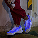 hesapli Erkek Atletik Ayakkabıları-Unisex Ayakkabı Mikrofiber Sonbahar Kış Günlük Atletik Ayakkabılar Yürüyüş Günlük için Siyah / Beyaz / Pembe