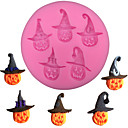 cheap Cake Molds-Halloween Pumpkin Shape Fondant Cake Silicone Mold Chocolate Candy Mould Baking Biscuits Pastry Molds Cake Decoration Tools