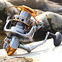 hesapli Balık Oltaları Makaraları-Balık Oltaları Makaraları Spinning Makaralar 5.1:1 Dişli Oranı+14 Rulmanlar El Yön Değiştirilebilir Deniz Balıkçılığı / Döner