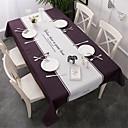 זול כיסויי שולחן-יום יומי סיבי פוליאסטר ריבוע כיסויי שולחן מעוטר עמיד במים לוח קישוטים