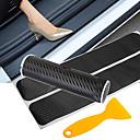 זול רכב הגוף קישוט והגנה-מדבקת דלת מכונית סיבי פחמן מגן אדן דלת מכונית מדבקת traceless אנטי שריטות נגד שריטות הגנת סף אביזרי רכב