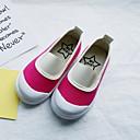 זול סנדלים לילדים-בנות נוחות קנבס נעליים ללא שרוכים ילדים קטנים (4-7) אפרסק / ירוק / כחול קיץ