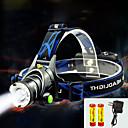 povoljno Slušalice i slušalice-TD286 Svjetiljke za glavu Svjetlo za bicikle Vodootporno Može se puniti 800 lm LED Cree® T6 1 emiteri s baterijama i punjačem Vodootporno Zoomable Može se puniti Podesivi fokus Kampiranje
