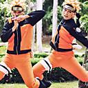 hesapli Anime Kostümleri-Esinlenen Naruto Hatake Kakashi / Naruto Uzumaki Anime Cosplay Kostümleri Japonca Cosplay Takımları Kostüm Uyumluluk Erkek / Kadın's
