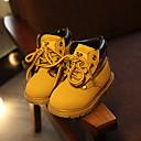 halpa Lasten saappaat-Poikien / Tyttöjen PU Bootsit Taapero (9m-4ys) / Pikkulapset (4-7 vuotta) Comfort / Maiharit Musta / Keltainen Kevät / Syksy / Nilkkurit