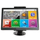 Недорогие DVD плееры для авто-7-дюймовый автомобильный GPS-навигатор Sat Nav 256 RAM / 8 ГБ Bluetooth AV-FM передатчик в комплекте бесплатные новые карты