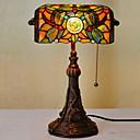 tanie Oświetlenie Tiffany-Muślin Nowy design Lampa stołowa Na Sypialnia / Jadalnia Żywica 220v