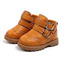 halpa Lasten saappaat-Tyttöjen Mikrokuitu Bootsit Pikkulapset (4-7 vuotta) Talvisaappaat Musta / Burgundi / Ruskea Syksy