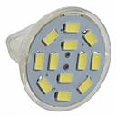 halpa LED-spottivalaisimet-3 W LED-kohdevalaisimet 250 lm GU4(MR11) MR11 12 LED-helmet SMD 5730 Lämmin valkoinen Kylmä valkoinen 12 V / 10 kpl