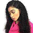 זול פיאות תחרה משיער אנושי-שיער אנושי תחרה מלאה פאה חלק צד בסגנון שיער ברזיאלי מתולתל שחור פאה 130% צפיפות שיער נשים בגדי ריקוד נשים ארוך פיאות תחרה משיער אנושי Clytie