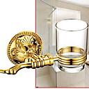 זול מדפי מקלחת-מחזיק למברשת שיניים יצירתי / רב שימושי מודרני טיטניום אלוי 1pc מותקן על הקיר